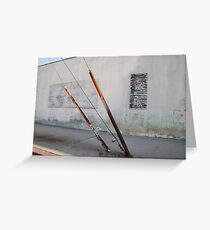 Abstract Reality Greeting Card