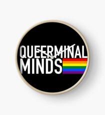 Queerminal Minds (Criminal Minds + Pride) Clock