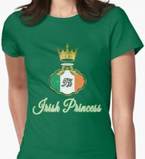 5% Irish Princess Deluxe Design Womens Fitted T-Shirt