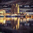 Frosty Morning Reflections Of Scalloway Waterfront by ArtofOrdinary