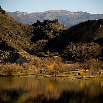 Lake in Central Otago by AquaMarina
