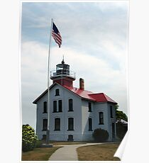 Traverse Bay Lighthouse Poster