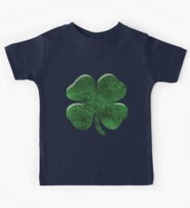 Deluxe Four Leaf Clover T-shirt Kids Tee