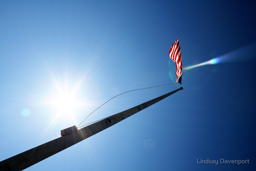 Patriotism by Lindsay Davenport
