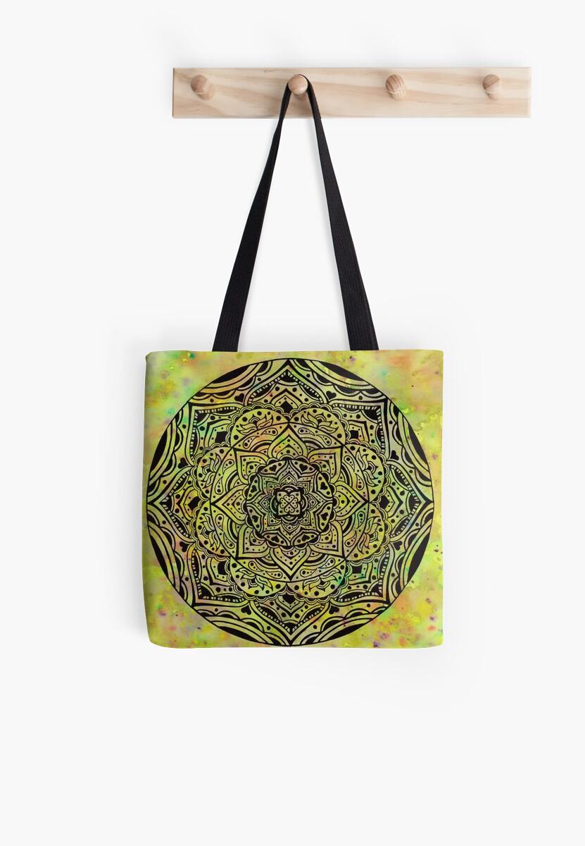 First of Spring Mandala by moondaladesigns