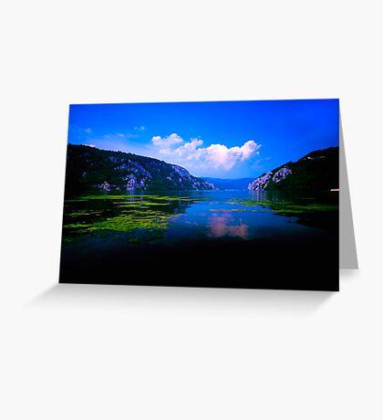 Beautiful Danube Greeting Card