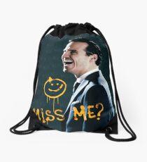 Miss me Drawstring Bag