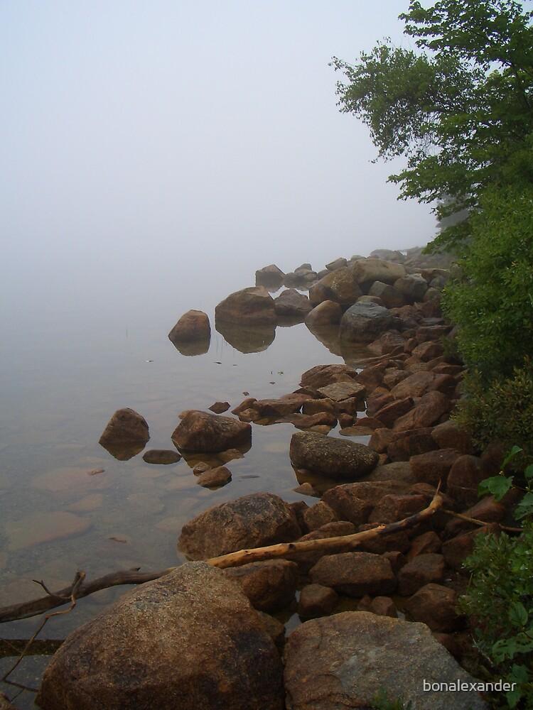 Serenity on Jordan's Pond by bonalexander