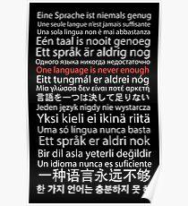 Eine Sprache ist nie genug Poster