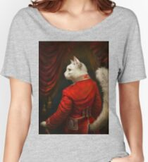The Hermitage Court Chamber Herald Cat Edited version Women's Relaxed Fit T-Shirt