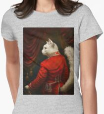 The Hermitage Court Chamber Herald Cat Edited version Womens Fitted T-Shirt