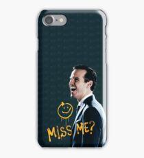 Miss me iPhone Case/Skin