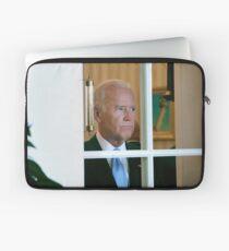 Joe Biden Staring Out Window Laptop Sleeve