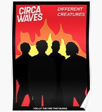 Circa Waves Movie Stylised Poster