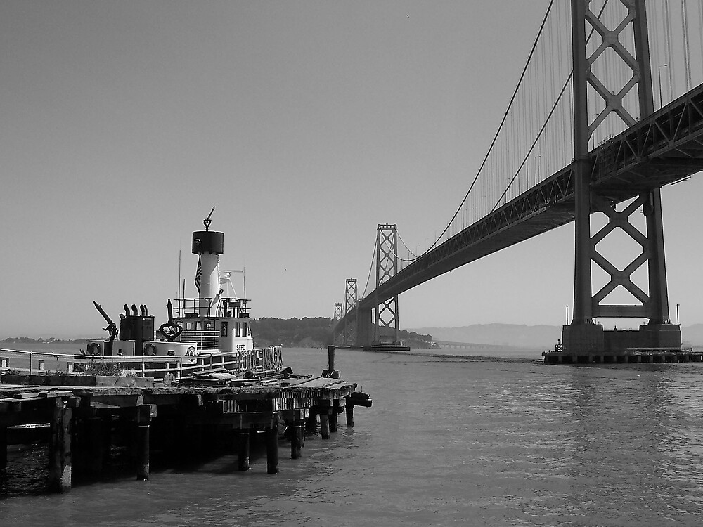 Bay Bridge, San Francisco by WarOfTheRoses