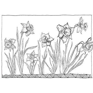 A Host of Golden Daffodils by ofmooseandmen