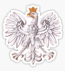 Poland National Eagle Deluxe Shirt Sticker