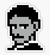 Team Tesla 8Bit Sticker