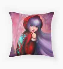 Red Riding Hoodie - Part 2 Throw Pillow
