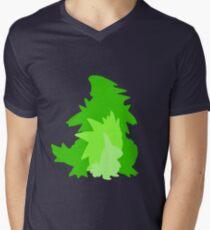 Tyranitar Evolutionary Line Men's V-Neck T-Shirt