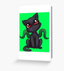 Chibi Displacer Beast Greeting Card