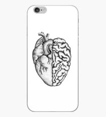 Heart and Brain iPhone Case