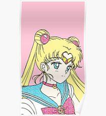 Glitter Sailor Moon  Poster