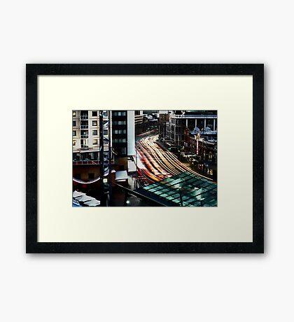 Central Framed Print
