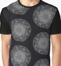 Rich Paisley Mandala Graphic T-Shirt