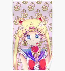 Kawaii Sailor Moon Poster