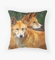 Dingoes Throw Pillow
