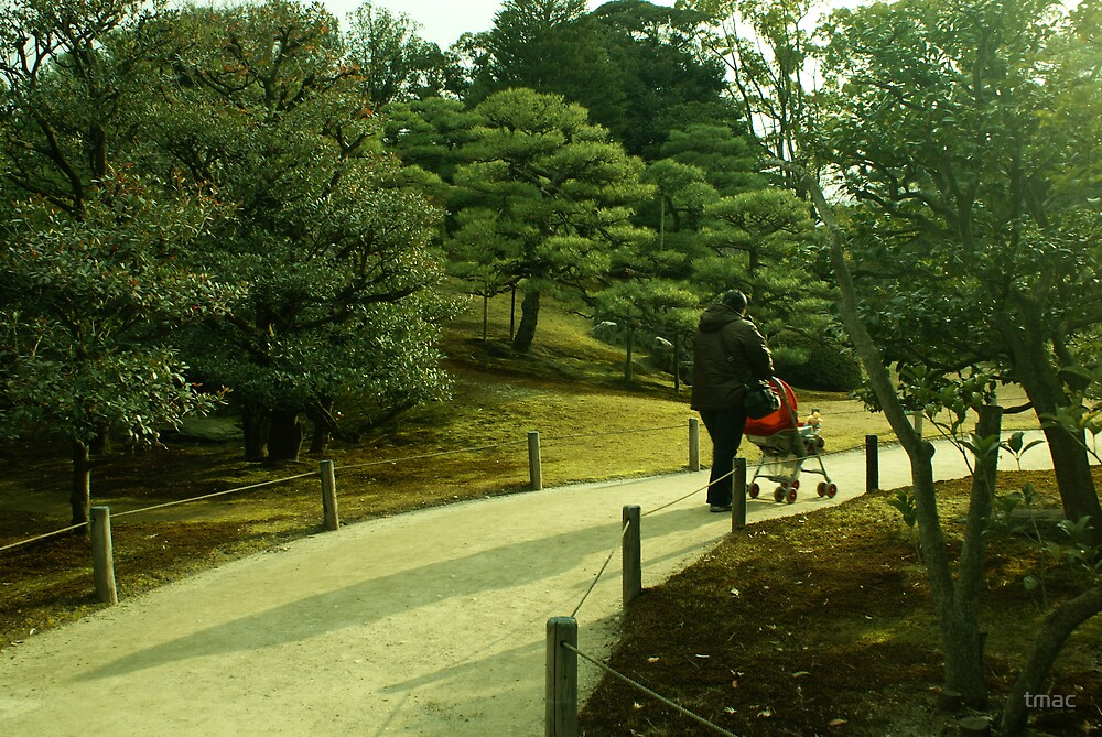 Japan - Walk Through The Park by tmac