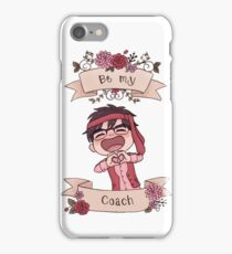 Be my Valentine drunk Yuuri iPhone Case/Skin