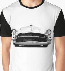 1956 Cadillac - high contrast Graphic T-Shirt