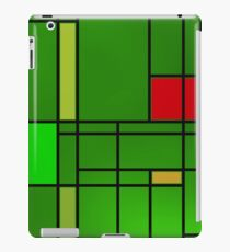 Composition over cool green iPad Case/Skin