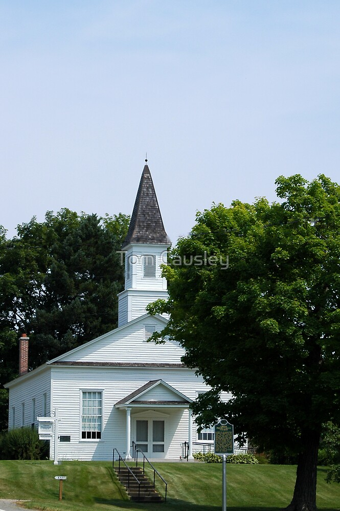 Old White Church by Tom Causley
