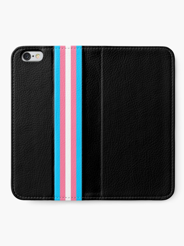 Alternate view of Transgender in Shapes iPhone Wallet