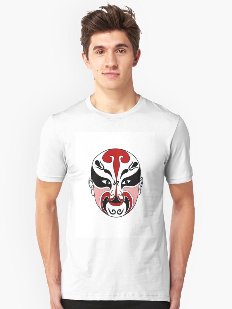 Opera mask by click