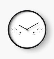 Shooting Stars Clock