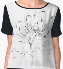 Chrysanthemum Dancer Chiffon Top