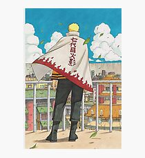 Naruto - Hokage  Photographic Print