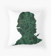 Creature Lagoon Throw Pillow
