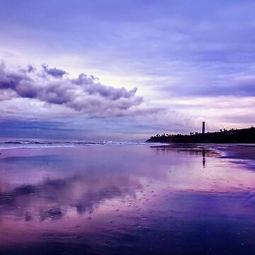 Low Tide, Cloudy Sunset by JaMiHo1981