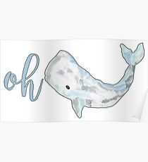 Oh Whale! Poster