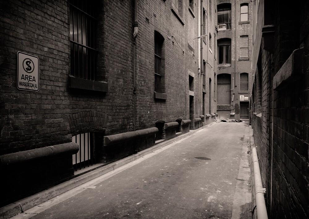 Warburton Alley by daveoh