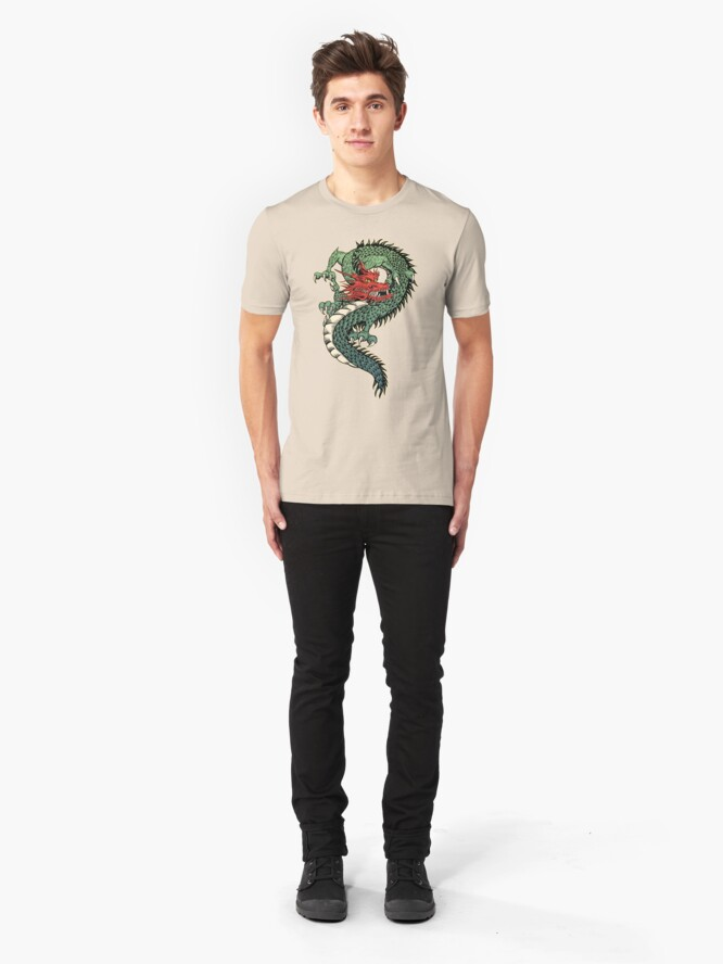 Alternate view of Dragon Slim Fit T-Shirt