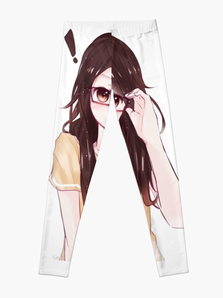 Cute Anime Girl Leggings