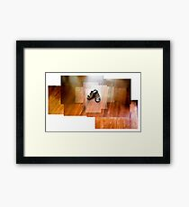 Slippers Framed Print