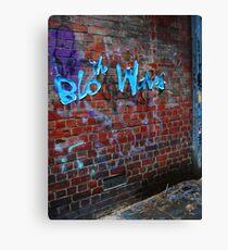 the Blo Waves Canvas Print