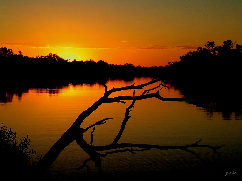 Sunset on the Thomson by joolz